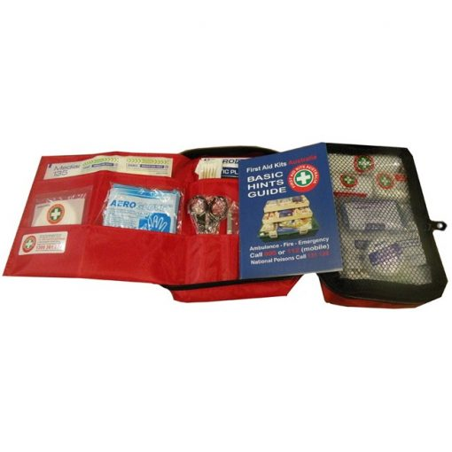 Contents of travel first aid kit