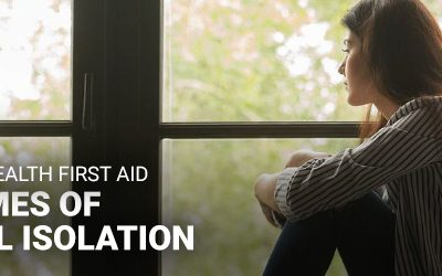 Mental Health First Aid on times of social isolation