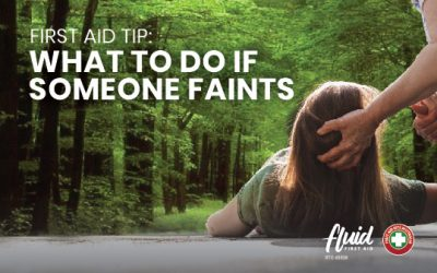 First Aid Tips: What to do if Someone Faints