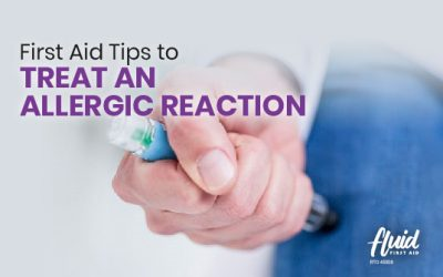 First Aid Tips to Treat an Allergic Reaction