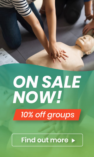 First Aid Course 10% Off Sale
